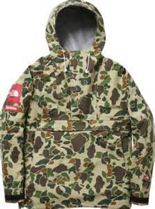Camo North Face Supreme Jacket