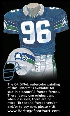 seattle seahawks uniform  team history heritage