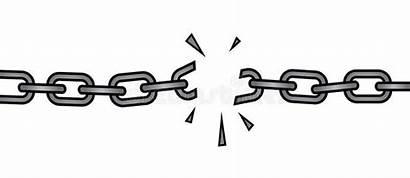 Broken Chain Draw Clip Corrente Quebrada Gebroken