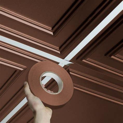 deco faux bronze self adhesive decorative grid