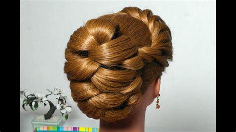hairstyle  long hair  twist braid vechernyaya