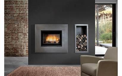 Wood Burning Open Door Fireplaces Deluxe