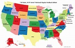 Tech-media-tainment: U.S. maps showing movie and TV show ...
