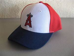 new anaheim los angeles angels sewn logo hat baseball cap