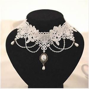 wedding choker necklaces cristal gland de tatouage choker With bijoux mariage vintage