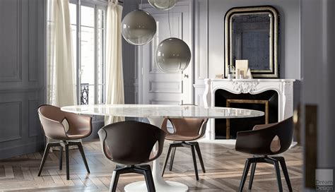 Poltrona Frau Ginger Chair By Roberto Lazzeroni