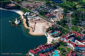 Aerial View Of The Dvc Expansion Construction At Disney U2019s Grand Floridian Resort