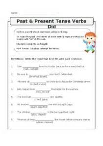 pin  verbs worksheets