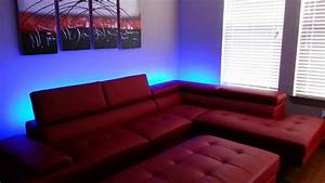 Couch Led : couch lit led installation youtube ~ Pilothousefishingboats.com Haus und Dekorationen