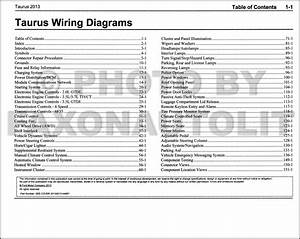 1998 Ford Taurus Wiring Diagrams