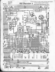 Chevrolet Chevy 1957 Car Wiring Electrical Diagram Manual