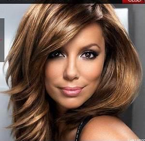 Cheveux Couleur Caramel : couleur de cheveux marron glac hair idee pinterest ~ Melissatoandfro.com Idées de Décoration