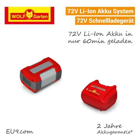 wolf garten 72v li ion power 37 wolf garten 72v li ion power 37 akku rasenm 228 eu9