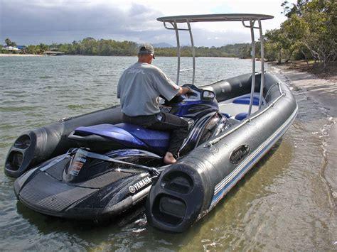 Jet Boat Vs Jet Ski by Dockitjet A Rib That Attaches To A Jetski Jet