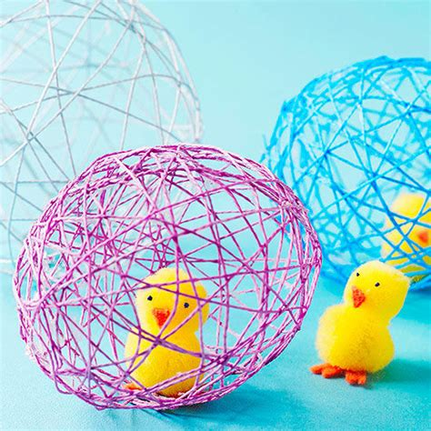 arts and crafts ideas easy easy kid crafts made with string 7751