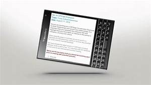 Docs to go getting started blackberry passport for Documents to go bb