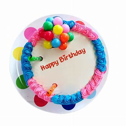 Birthday Cake Happy Colorful Transparent Background Clipart