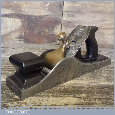 rare henry slater  panel plane  rosewood infill  edward preston iron hand plane