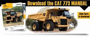Caterpillar 773 Haul Truck Driver Manual