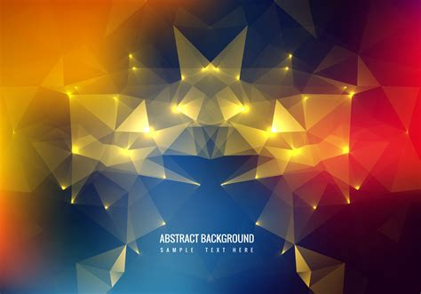 Wallpaper Of Vector by Free Colorful Polygon Vector Background Free