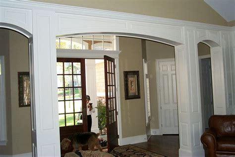 interior home columns square interior columns with arches for the home pinterest interior columns