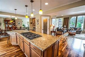 Luxury, Kitchens, How, To, Hide, Seams, In, Natural, Stone, Kitchen, Islands