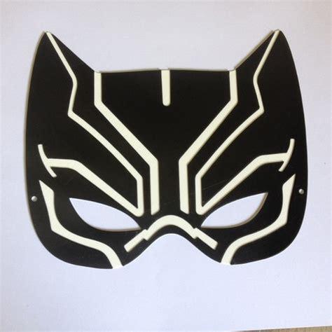 black panther mask template stl file black panther mask masque la panth 232 re cults