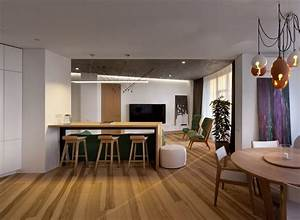 Skyline, Minimalist, Apartment, By, Sergey, Makhno, Architects