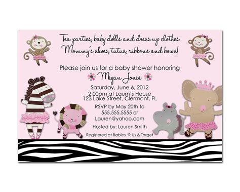 Cute Wedding Decorations by Baby Shower Brunch Invitations Wording Templates