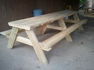 10′ Picnic tables Jays Custom Creations