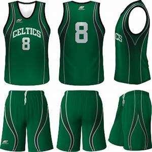Celtics Basketball Uniform