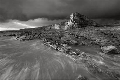 Landscape Lake Scotland Bw District Snowdonia