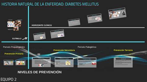 historia natural de la enferdad diabetes mellitus