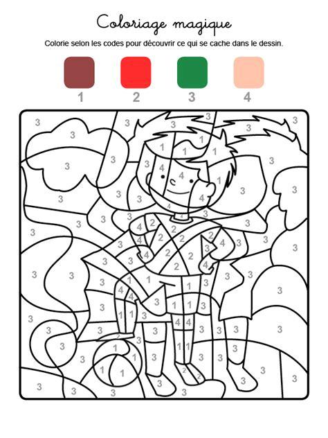coloriage magique dun joueur
