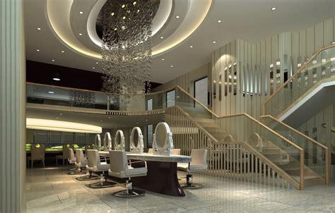 wallpaper ideas for dining room luxury hair salon interior design 3d house