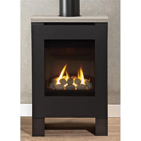 Vent Free Gas Corner Fireplace