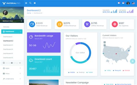 Materialpro Bootstrap Material Dashboard