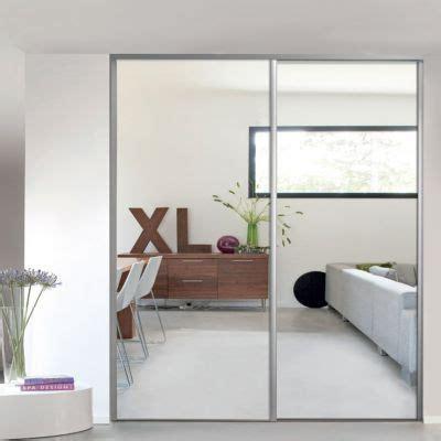 Porte Coulissante Miroir 1 Porte De Placard Coulissante Miroir 92 2 X 245 6 Cm Valla Castorama