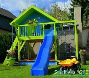 Spielhaus Für Den Garten : bauanleitung spielhaus 39 ole 39 baumhaus stelzenhaus ~ Articles-book.com Haus und Dekorationen