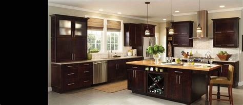 cherry java cabinets collection reading species maple color espresso