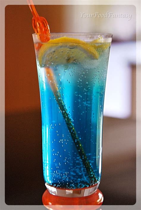 blue lagoon mocktail recipe your food fantasy