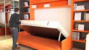 Lit Double Escamotable Ikea : lit escamotable avec canape integre ikea recherche google chambre pinterest searching ~ Melissatoandfro.com Idées de Décoration