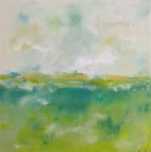 Abstract Landscape Paintings Spring