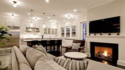 Size Living Room And Kitchen contemporary lighting miami open kitchen living room