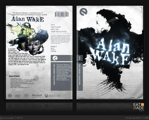 alan wake xbox  box art cover  eat nade