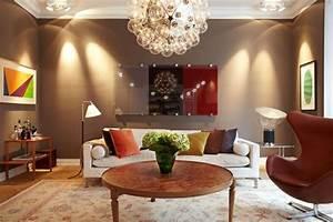 decoration salon couleurs chaudes With d co salon couleur chaude