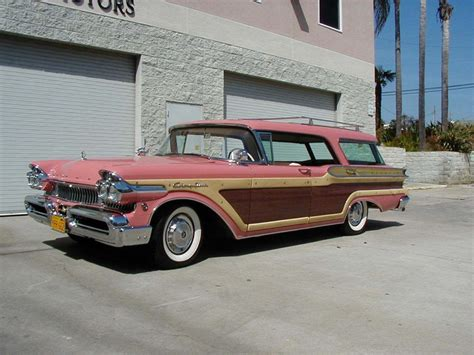 Station Wagon For Sale by 1957 Mercury Colony Park Station Wagon For Sale