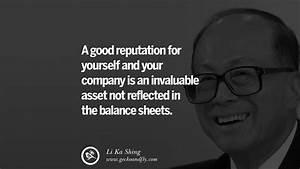12 Inspiring Li... Reputation Worth Quotes