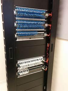 Traditional Punch Down Panel Or Keystone Panel    Homelab