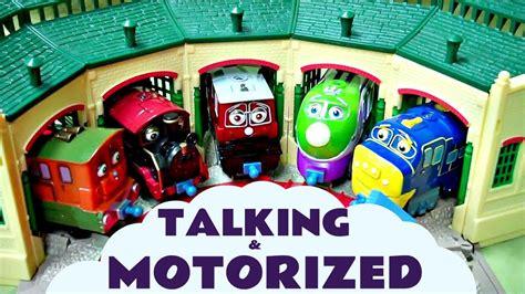 chuggington motorized at tidmouth sheds kids toy thomasthe